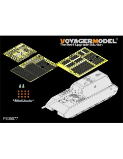 PE for WWII German MAUS Super heavy tank (For DRAGON), 35077, VOYAGERMODEL 1/35