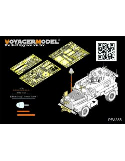 PEA355,Modern US COUGAR 4X4 MRAP additional parts (For PANDA), VOYAGERMODEL 1/35