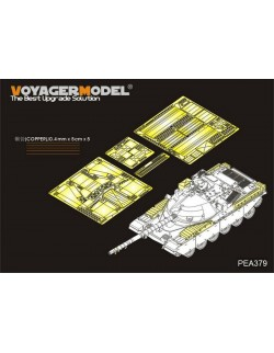 PEA379, British Chieftain MBT Stowage Bins (For TAKOM) , VOYAGERMODEL 1/35