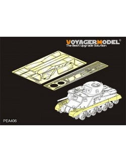 PEA406, WWII British Grant Medium Tank Track Covers(For TAKOM), VOYAGERMODEL 1/35