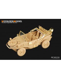 PE for WWII Fenders for Panzer III Mid-Late Version VOYAGERMODEL 1//35 35158