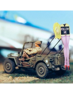 SOL RESIN FACTORY, [1/48] WILLIS JEEP 'FOLLOW ME', MM103