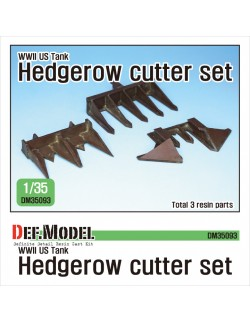 DEF. MODEL ,DM35093, WWII US Tank hedgerow cutter set (for 1/35 kit) ,1:35