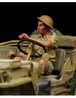 Scottish Highlander Western Desert WW II, (1 FIGURE), The Bodi, TB-35095, 1:35