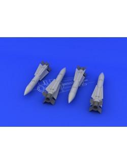 AIM-120A/ B AMRAAM (2pcs) 1/48, Eduard 648084