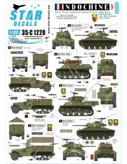Star Decals 35-C1001, Decals for South African Shermans in Italy 1943-45,1:35