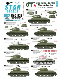Star Decal 35-C1220, Indochine  5. 1er Regiment de Chasseurs M5A1 Stuart, 1/35