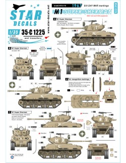 Star Decal 35-C1224, Red Army OT-34 Flame tanks.T-34 flame thrower version, 1/35