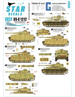 Star Decal 35-C1240, CRO-ARM 5. Domovinski Rat / Homeland War 1991-95, 1/35