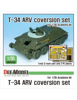 DEF. MODEL ,DM35095, Soviet T-34 ARV coversion set (for 1/35 Academy kit) ,1:35