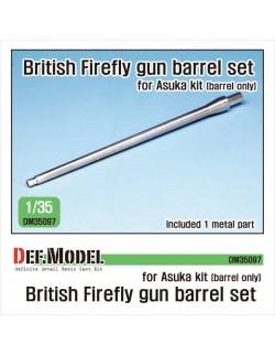 DEF. MODEL ,DM35097, British Sherman Firefly metal barrel (for Asuka 1/35),1:35