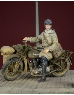 D-Day Miniature, 35031 – WRNS Despatch Rider 1939-45, 1/35