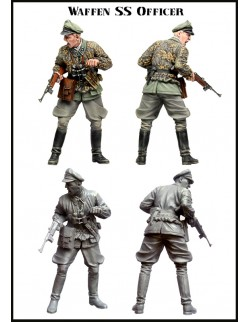 Evolution Miniatures 35023, Officer SAS and Local Man 1942 (2 Figur), SCALE 1:35