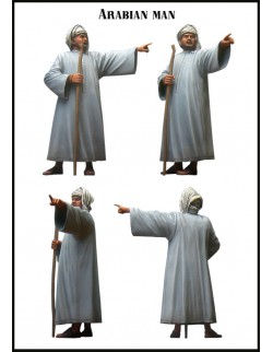 Evolution Miniatures 35052, Arabian Man (1 Figure), SCALE 1:35