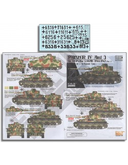 ECHELON FD AXT351035, Decals for 31. Pz.Rgt., 5. Pz.Div. Panthers , 1/35