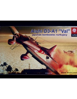 TYPE 99 AICHI D3A1 VAL - BATTLE FOR MIDWAY , ZTS PLASTYK, SCALE 1/72