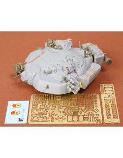 S.B.S Models, 1/35, 35004, T-72A turret for Tamiya kit