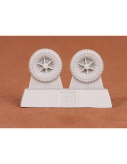S.B.S Models, 1:72, 72016, P-40 wheels (30 Block tread)