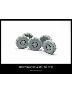 MINIARM 1/35, B35103, Wheel set VI-3 for 6X6 Truck KRAZ