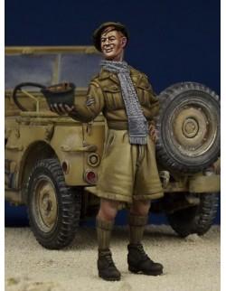 Finnish Tank crewman WW II SET 2 , (1 FIGURE), The Bodi, TB-35149, 1:35