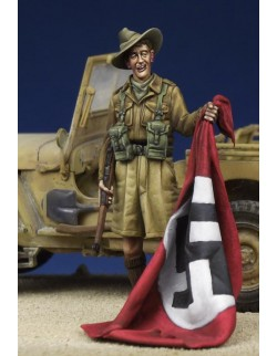 Desert Rat - British Soldier WW II, (1 FIGURE), The Bodi, TB-35160, 1:35
