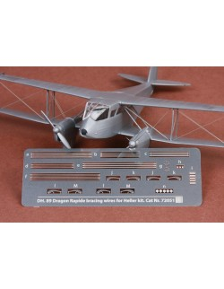 S.B.S Models SBS-72051 DH-89 Dragon Rapide rigging wire set for Heller kit, 1:72