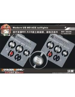 BR35039, PE FOR Modern US M9 ACE taillights (For TAKOM 2020), VOYAGER 1:35