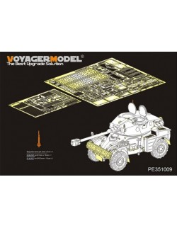 BR35100, PE FOR U.S. M1000 Trailer Lenses and taillights (For HOBBYBOSS), VOYAGER 1:35
