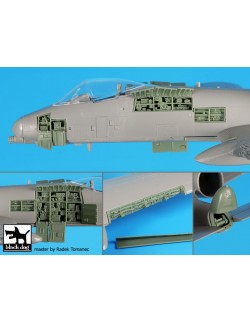 A72084 1/72, ACCESSORIES SET FOR A-10 wings+rear electronics BLACK DOG, 1:72