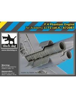A72086 1/72, ACCESSORIES SET FOR F-4 Phantom spine BLACK DOG, 1:72