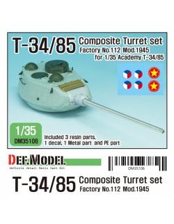 DEF. MODEL ,DM35103, M4A3E8 Mantlet Canvas Covet set ( for RFM, Asuka 1/35)