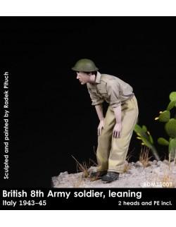 Rado Miniatures, RDM35007, British 8th Soldier in Italy 1943-45 , 1:35