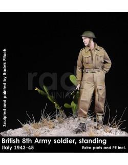 Rado Miniatures, RDM35008, British 8th Soldier in Italy 1943-45 , 1:35