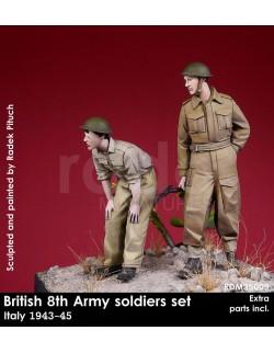 Rado Miniatures, RDM35009, British 8th Soldiers in Italy 1943-45 (2 Fig.), 1:35