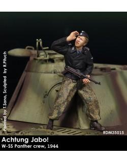 Rado Miniatures, RDM35013, Achtung Jabo! NCO w/MP40 1944 , 1:35