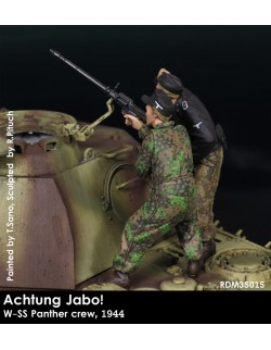 Rado Miniatures, RDM35015,  ACHTUNG JABO! W-SS Panther crew, 1944 (2 Fig.), 1:35