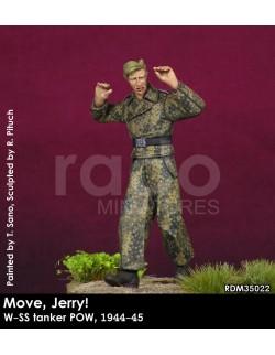 "Rado Miniatures, RDM35022, ""Move, Jerry!"" - German Tanker POW 1944-45, 1:35"