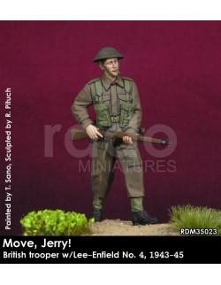 Rado Miniatures, RDM35014, Achtung Jabo! Panzer Crewman w/MG34 1944 , 1:35