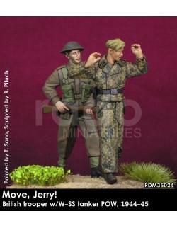 "Rado Miniatures, RDM35023, ""Move, Jerry!"" - British Trooper w/Lee 1944-45, 1:35"