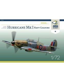 ARMA HOBBY, 70022 Hurricane Mk I Navy Colours -  Model Kit, scale 1:72