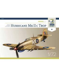 Hurricane Mk IIc - Model Kit, ARMA HOBBY 70036, SCALE 1/72