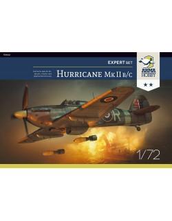 Hurricane Mk II b/c Expert Set - Model Kit , ARMA HOBBY 70042, SCALE 1/72