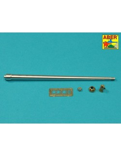 ABER R-41 Barrel Cleaning Rods with Brackets for Tiger I Tunisia for Tamiya kit, 1:35