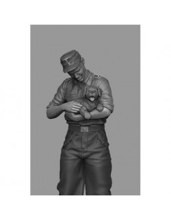 PANZER ART FI35-120 StuG Driver with Puppy (1 FIGURE), SCALE1:35