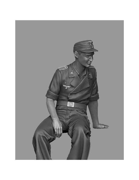 PANZER ART FI35-123 StuG Gunner at rest (1 FIGURE), SCALE 1:35