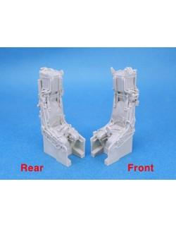 LEGEND PRODUCTION LF3216, F-14D Seat set (2ea) - 4 Resin parts , 1:32