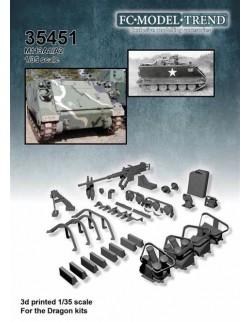 35451, M113A1/A2 details, SCALE 1:35 FC MODEL TREND