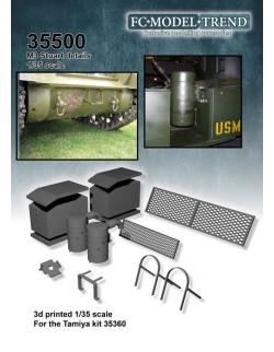 35500 M3 Stuart, upgrade set,  SCALE 1:35 FC MODEL TREND,  SCALE 1:35 FC MODEL TREND
