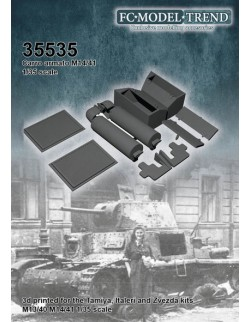 35535 M14/41 details, SCALE 1:35 FC MODEL TREND