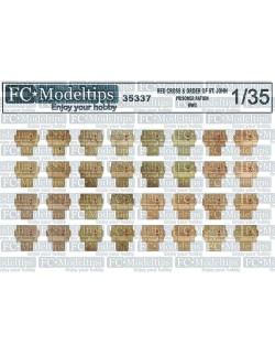 35533 Semovente M41 details, SCALE 1:35 FC MODEL TREND